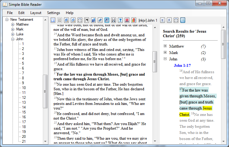 Simple Bible Reader Converter | LingTranSoft info